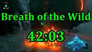 Breath of the Wild Any% Speedrun in 42:03 (No Amiibo)
