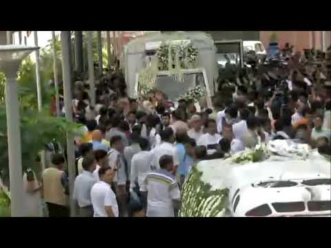 Last rites of our senior leader and India's former External Affairs Minister Smt. Sushma Swaraj.