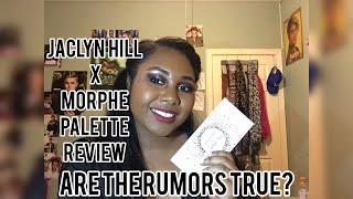 JACLYN HILL X MORPHE VAULT REVIEW: BLING BOSS PALETTE