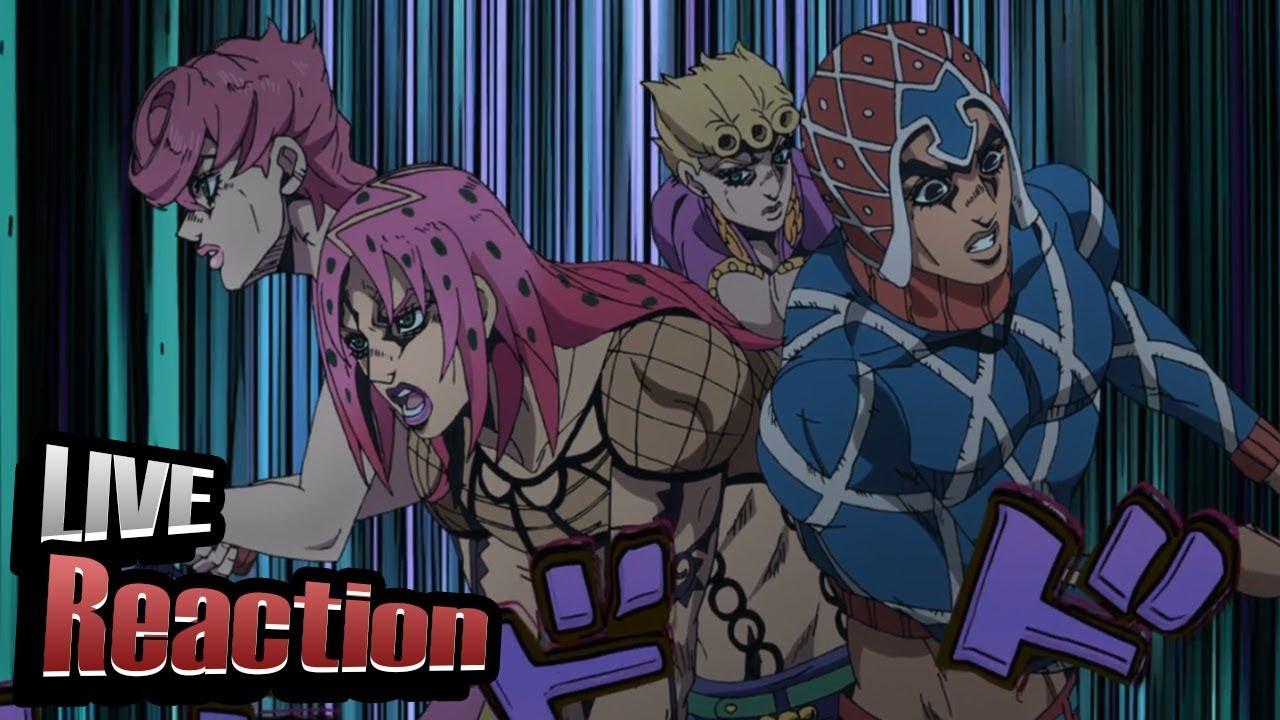 JoJo's Bizarre Adventure Part 5: Golden Wind Episode 35 Live Reaction