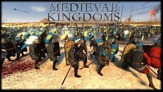 HUGE RIVER CROSSING! Medieval Kingdoms Total War Mod Gameplay