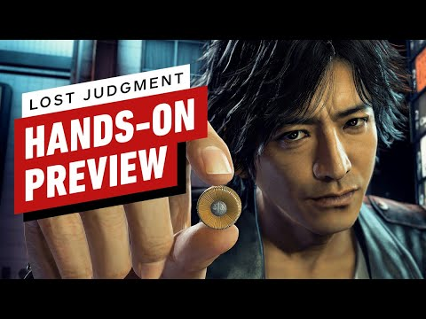 Lost Judgment Hands-On Preview - IGN