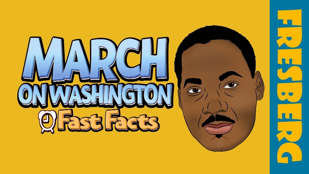 March on Washington for Jobs and Freedom | Black History Fun Facts for Kids | Educational Cartoon