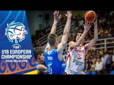Turkey V Slovenia - Highlights - Semi-Final - FIBA U18 European Championship 2019