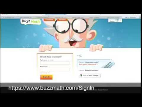 How to Navigate Buzzmath (a learning math tool): OMS Tech Talks