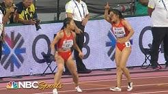 Worst baton pass ever? China's catastrophic 4x100 relay handoff   NBC Sports