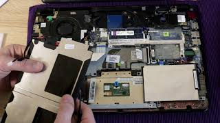 замена батареии на ноутбуке HP envy Model 4 - 1055er