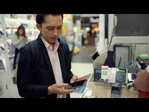 Bitcoin payment using Blockchains.my wallet at Tokyo,Japan