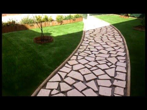 Casverde instaciones de nuevos jardines artificiales youtube for Jardines artificiales
