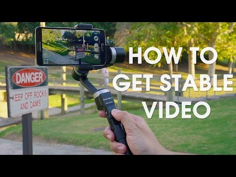 Stabilize Your iPhone and Android Video Footage