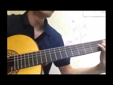 Elfen Lied(엘펜리트) ost -  Lilium 기타연주
