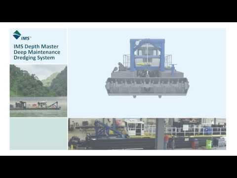 DM-60 Depth Master is IMS's solution to deep maintenance dredging