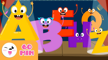 EL ABECEDARIO de la A a la Z - Vídeo educativo para aprender las letras