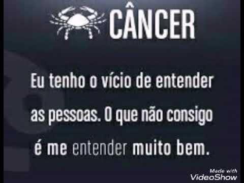 Frases De Signo De Câncer Youtube