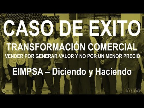 Caso de Exito Transformación Comercial - Eimpsa