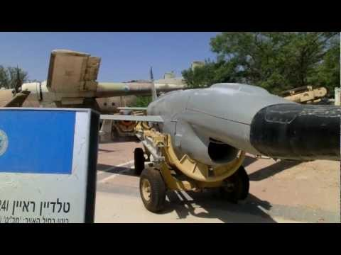 Teledyne Ryen 124I FireBee a reconnaissance jet UAV recovered in mid-air by helicopter