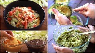 Vegan Tostada + Guac Recipe