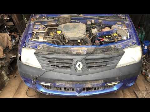 Где находится номер двигателя на автомобиле Renault Logan