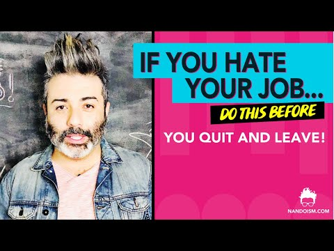 I Hate My Job Because I Feel Stuck And I Want To Quit The Job Today! (Here's 3 Solutions) from YouTube · Duration:  2 minutes 27 seconds