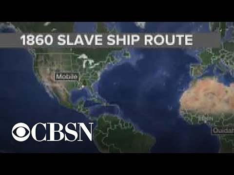 Last known slave ship to arrive in U.S. discovered in Alabama