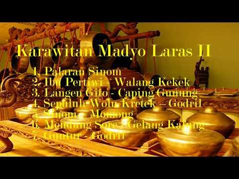 Full Langgam Karawitan Madyo Laras II