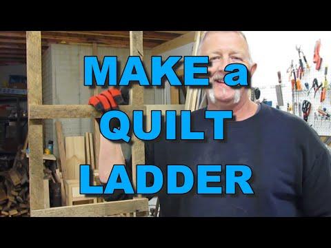 Build a Quilt Ladder