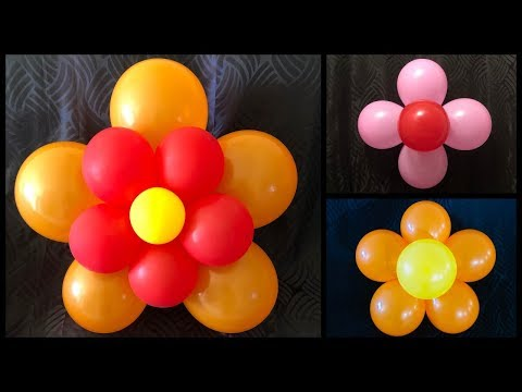 Easy Balloon Decoration at home/3 Simple balloon decoration ideas - Party Decorations