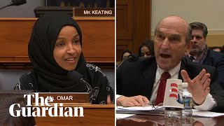 Ilhan Omar grills Trump's Venezuela envoy over past