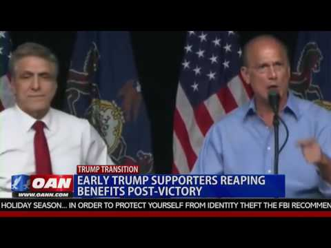 Early Trump Supporters Reaping Benefits Post-Victory