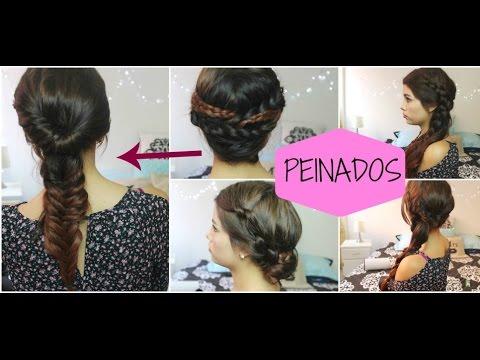 5 peinados f ciles y bonitos 2015 youtube - Peinados faciles y bonitos ...