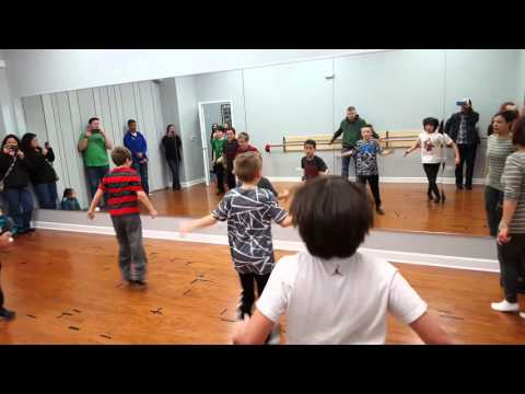 DLD Jazz Ballet Class - Let It Rock - Kevin Rudolf