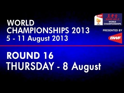 R16 - WD - Jung K.E./Kim H.N. vs M.Maeda/S.Suetsuna - 2013 BWF World Championships