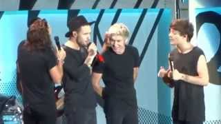 "Singing ""Happy Birthday"" to Niall - One Direction - Gillette Stadium - Boston, MA 9/12/15"