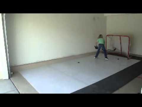 SKILLon Synthetic Ice Hockey Solutions   YouTube