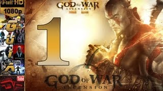 God of War: Ascension Español Parte 1 PS3 Modo Historia Campaña Guia Coleccionables Walkthrough