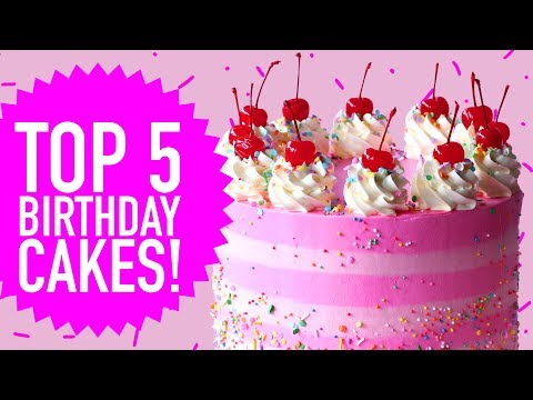 TOP 5 BIRTHDAY CAKES! - The Scran Line