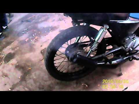 Suzuki ax 100 escape macondo