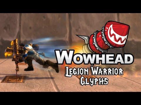 Legion Warrior Glyphs