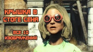 Fallout 4 Nuka-World - Крышка в стоге сена