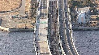 タンカー衝突の関空連絡橋、GW前に6車線完全復旧へ