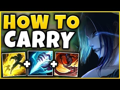 HOW TO WIN EVERY GAME WITH BLUE KAYN IN SEASON 9! (EASY 1V5 EVERY GAME) - League of Legends
