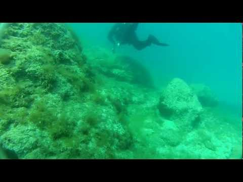 Scuba Dive @ Greece 21-4-2012 [raw footage]