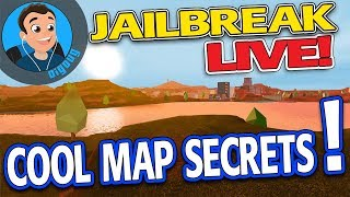 Roblox Jailbreak LIVE! There are tons of awesome map secrets in Roblox Jailbreak right know!!