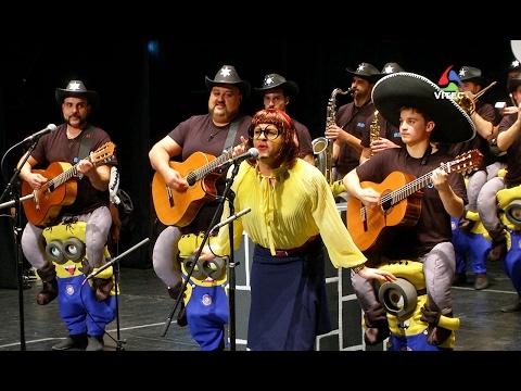 Os Minions - Bailinho dos Rapazes das Doze Ribeiras - Carnaval 2017