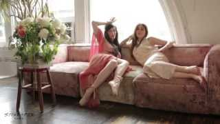 Stone Fox Bride's Second Life Vintage Collection with Zosia Mamet and Sarah Sophie Flicker