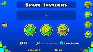 Space Invaders full layout Geometry Dash 2.11 by me| Ozone XD
