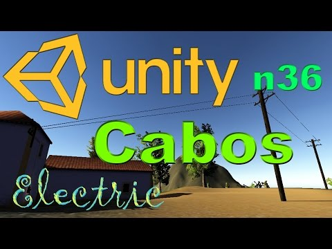 Unity 3D Tutorial n36 - Cabos Eléctricos Rope Cable Electric