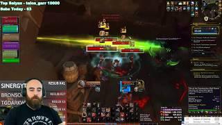 Siege of Boralus +15: 473 Fury Warrior - WoW BFA 8.3 Mythic+ Dungeons