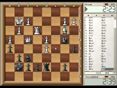 Blitz Chess #99 with Live Comments - Sicilan c3 vs FM (b)