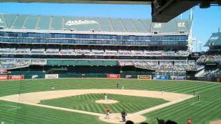 Mike Trout strikes out vs Tommy Milone